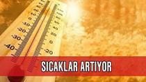 Hava sıcaklığı 10 derece birden artıyor!