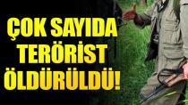 6 terörist etkisiz hale getirildi...