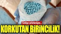 Türkiye sentetik uyuşturucudan ölümlerde Avrupa'da ilk sırada