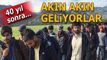 2. büyük göç dalgası ile Türkiye'ye akın ediyorlar...
