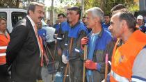 Başkan Çetin, '1 Mayıs'da alanlardayız'