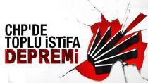 CHP'de Toplu 'Liste' İstifası...