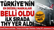 En değerli Türk markaları belli oldu!