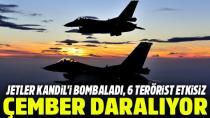 TSK Teröristlere Bomba Yağdırıyor!