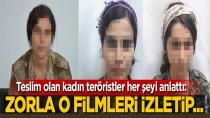 Örgütten kaçan teröristler itiraf etti: İşkence filmleri izletiyorlar