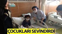 Gürkan'dan Onkoloji Hastalarına 'Moral Ziyareti'