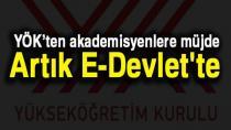 E-Devlet'ten bir hizmet daha! Öğretim Elemanı Belgesi e-Devlet'te