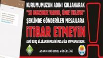 ASKİ'den Vatandaşa 'Önemli' Uyarı...