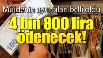 Öğrencilere Yaz tatilinde 4 bin 800 lira ödenecek!