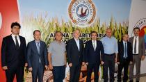 Vergi Dairesi Başkanı Tunalı, ATB'de incelemede bulundu
