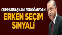 Erdoğan'dan Erken Seçim Sinyali: 'Seçim Atmosferinden Çıkmayacağız'