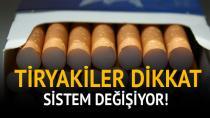 Sigara vergilendirme sistemi değişti