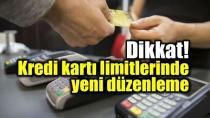 BDDK'dan kart limitinde yeni düzenleme!