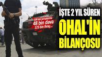 İşte 2 yılda OHAL'in bilançosu