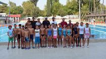 10 Yaş üstü performans yüzme yarışları tamamlandı