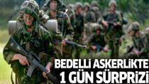 Bedelli Askerlikte 1 Ocak 1994 Doğumlular da Yasa Kapsamına Alındı