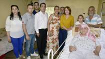 Yatalak hastalara ücretsiz ortopedik yatak ve karyola