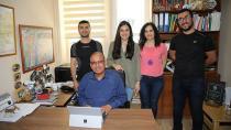 Dünyaca Tanınmış Profesör Çukurova Üniversitesini ziyaret etti...