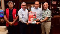 Sözlü'den Kızılay'ın Kurban Kampanyası'na destek