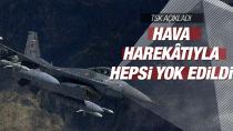 PKK hedefleri yerle bir edildi: 2 terörist öldürüldü!