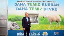 Adana Büyükşehir'den ücretsiz kurban kesim hizmeti
