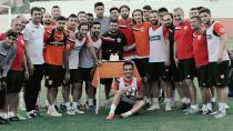 Adanaspor'da Ümraniyespor maçı hazırlıkları sürüyor