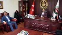 Ali Yeldan'dan Baro'ya Veda Ziyareti...