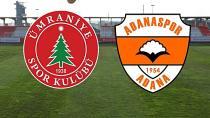 Adanaspor eli boş dönüyor:1-2
