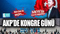 AK Parti Kongresi ''Millet Bir Hedef Bir'' Sloganıyla Başladı!