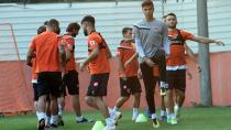 Adanaspor 2 günlük iznin ardından hazırlıklarına başladı