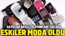 Akıllı olmayan cep telefonları moda oldu!