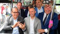 Belediye Otobüslerinde Ücretsiz İnternet Hizmeti