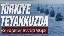 Türkiye Doğu Akdeniz'de alarma geçti