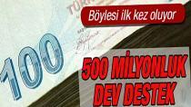 Sanayide 'güç birliği'ne 500 milyon liralık destek