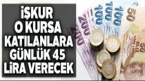 Günlük 45 lira harçlık verilecek!