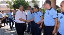 Başkan Boydak, zabıtaları  ziyaret etti