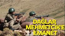 Mehmetçik, dağda kuş uçurtmuyor!