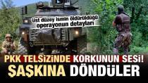 PKK'lı teröristlerin telsizinde korkunun sesi