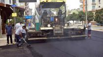 Ceyhan'da asfalt hamlesi hızlı başladı...