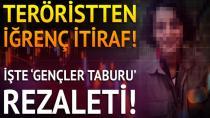 İşte PKK'dan kaçan teröristin itirafları...