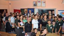 Kürkçüler Ortaokulu'nun kırtasiyesi 5 Ocak Rotary'den