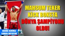 Seyhan Beledeyespor'un Genç Sporcusu Dünya Şampiyon Oldu