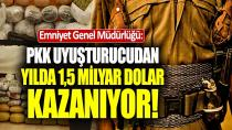 'PKK silah için uyuşturucu ticareti yapıyor'