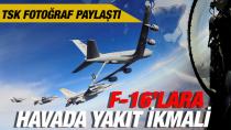 F16'lara kesintisiz uçuş yapıyor!
