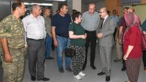 Vali Demirtaş'tan 'Moral' ziyareti