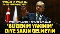 Erdoğan yerel seçimlerde torpilin önünü kapattı...