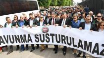 Avukatlar, Ömer Kavili'nin tutuklanmasını protesto etti
