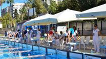Yüzme Yarışlarına 12 Kulüpten 105 Sporcu Katıldı