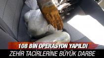 2 milyar 834 milyon lira değerinde uyuşturucu ele geçirildi
