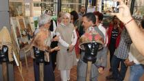 Bayan Demirtaş 'Bir Zamanlar Selçuklu' Sergisine Hayran Kaldı
